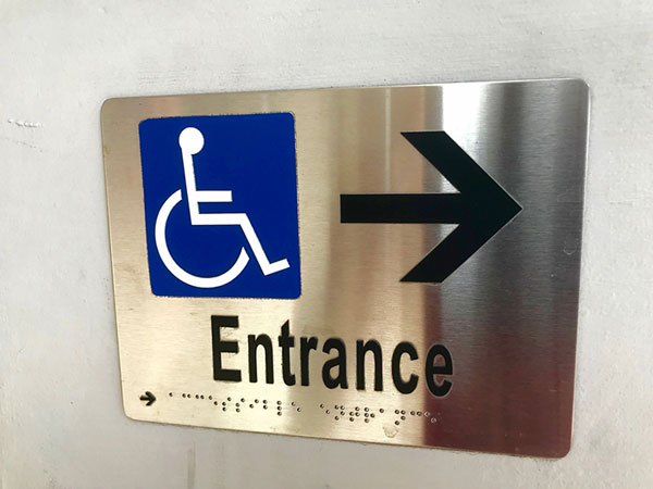 ADA compliant signs in Surprise, AZ