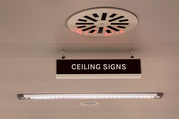 Ceiling Signage Ideas for business in Surprise, AZ
