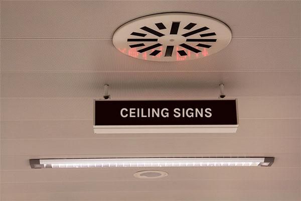 Ceiling Signage Ideas for business in Surprise, AZ