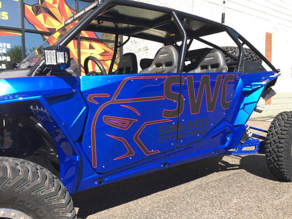 ATV wraps and graphics by Howling Wolf