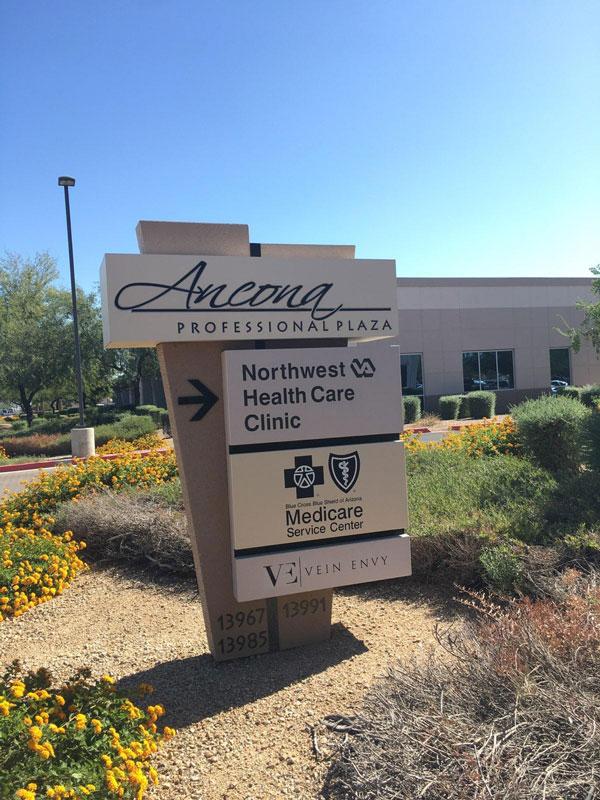 Monument signs for business Surprise, AZ