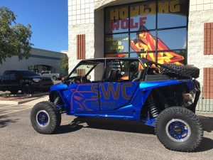 Custom vehicle wraps-Howling Wolf Graphics and Signs