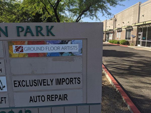 Commercial monument signs in Phoenix, AZ