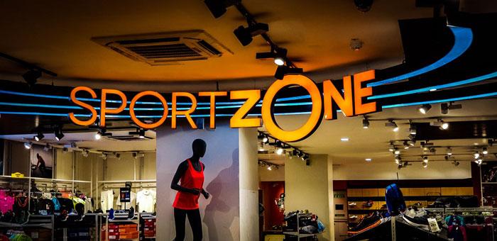 SportZone custom LED signs